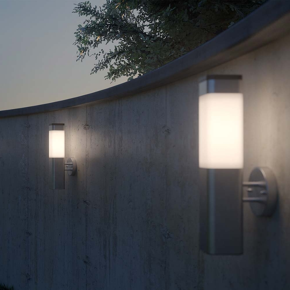Solar Wall Light Inside Latest Outdoor Solar Wall Lights (View 16 of 20)