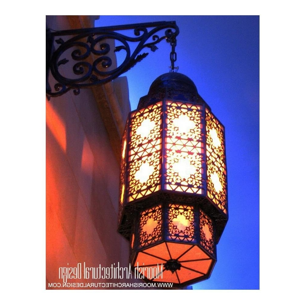 Stained Glass Outdoor Wall Lights With Favorite Moroccan Outdoor Wall Sconce Los Angeles California (View 15 of 20)