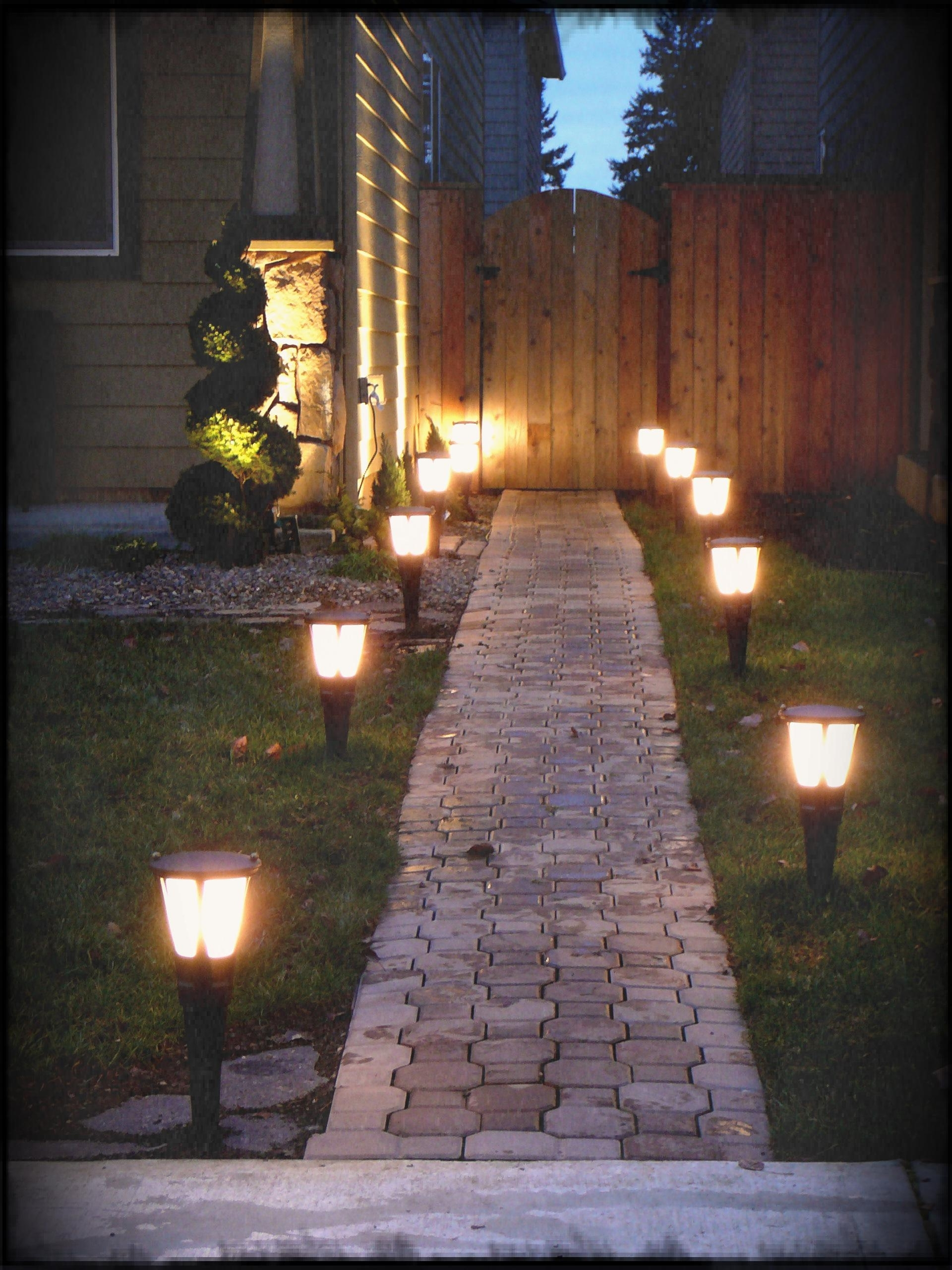 The Garden Ideas With Well Known Modern Led Solar Garden Lighting Fixture (View 17 of 20)