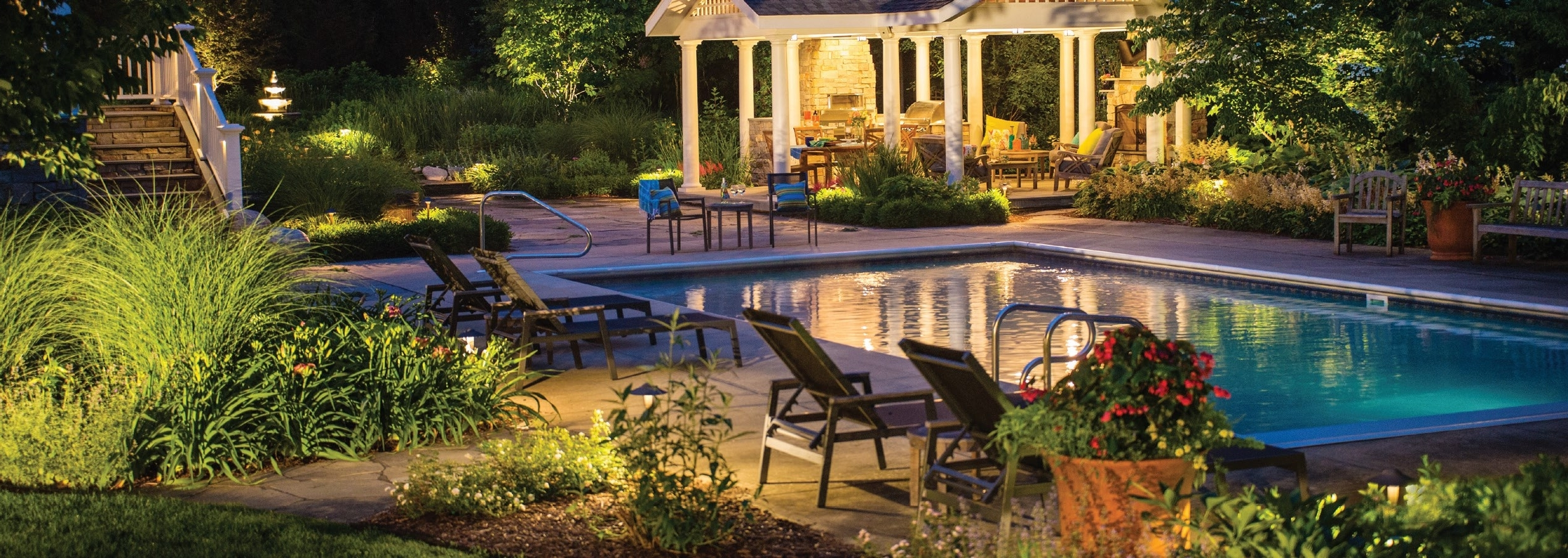 The Many Opportunities Of Low Voltage Landscape Lighting – Turf Throughout Well Known Let Outdoor Kichler Lighting (View 15 of 20)