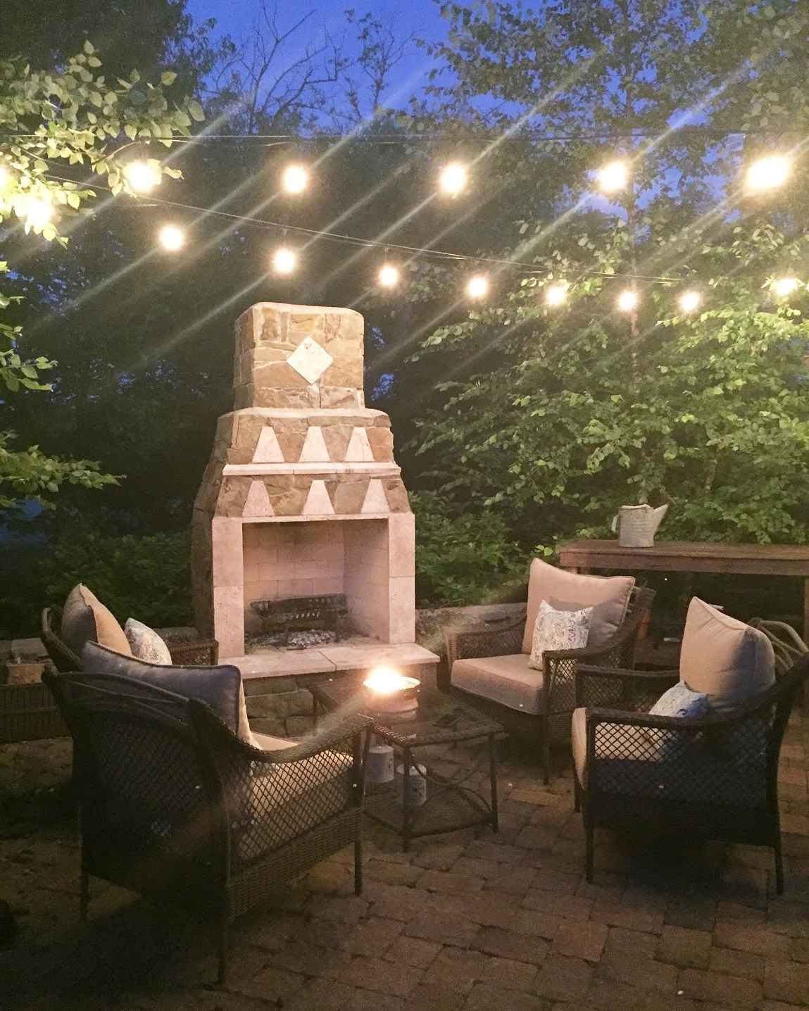 To Hang Outdoor String Lights From Thrifty Decor Chick With Regard To Most  Recent Outdoor Patio