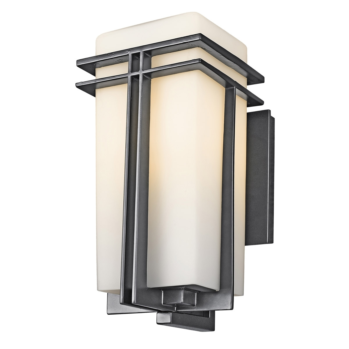 Transitional Outdoor Wall Lighting Pertaining To Well Known 49201Bk Tremillo Outdoor Wall Fixture (View 10 of 20)