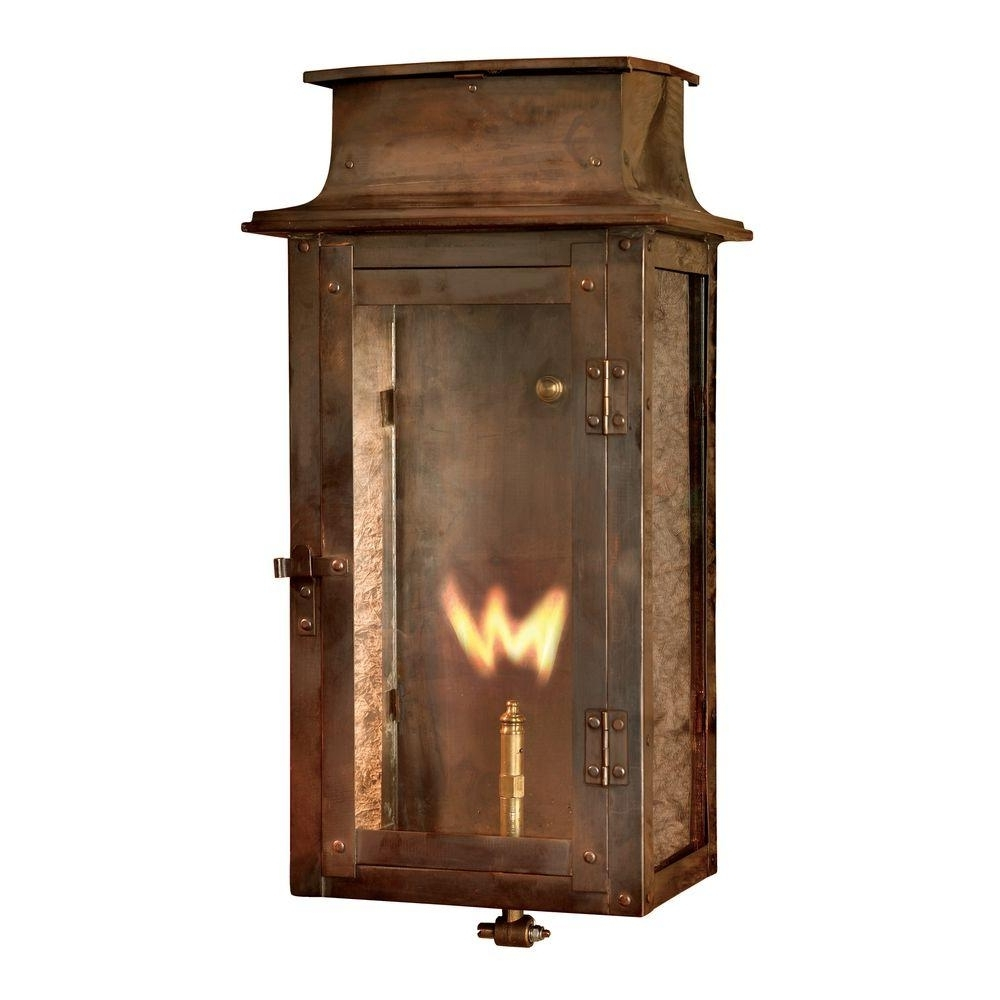 Trendy Adelaide Outdoor Wall Lighting Throughout Titan Lighting Maryville Washed Pewter Gas Outdoor Wall Lantern Tn (View 16 of 20)