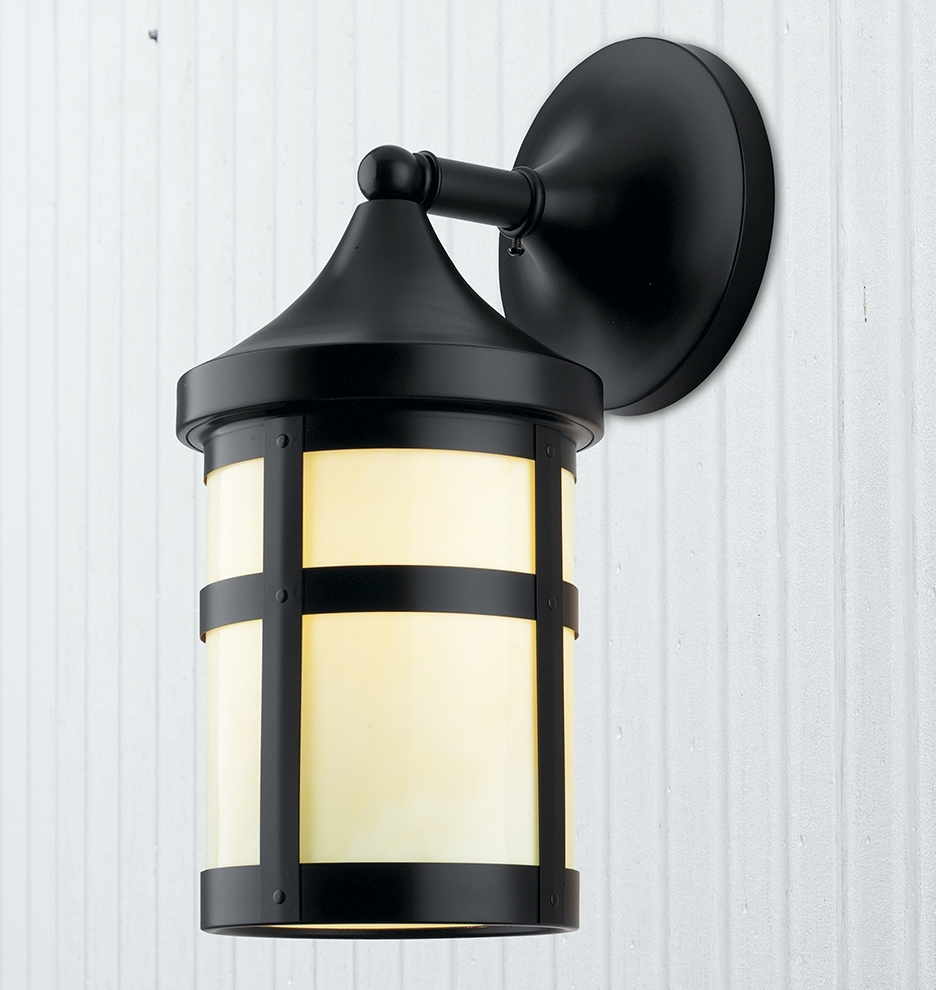 """Trendy Arts And Crafts Outdoor Wall Lighting For Columbia 7"""" Arts & Crafts Lantern Wall Sconce (View 15 of 20)"""