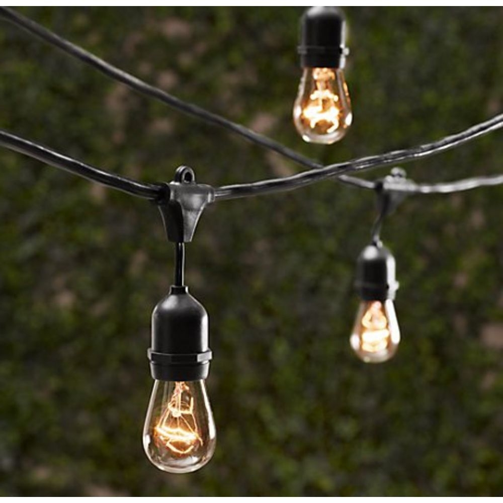 Trendy Commercial Grade Outdoor Hanging Lights With Vintage String Lights – Bulbs Not Included – Commercial Grade (View 17 of 20)
