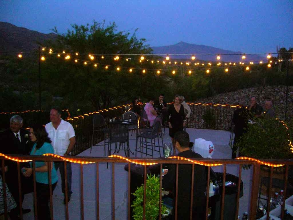 Trendy Hanging Outdoor Lights On Deck Within Outdoor Party Lights Idea (View 19 of 20)