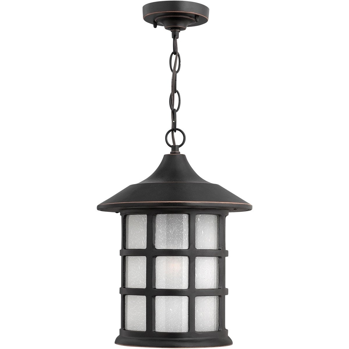 Trendy Hinkley Outdoor Hanging Lights Pertaining To Hinkley Lighting 1802Op Freeport 1 Light 10 Inch Olde Penny Outdoor (View 19 of 20)