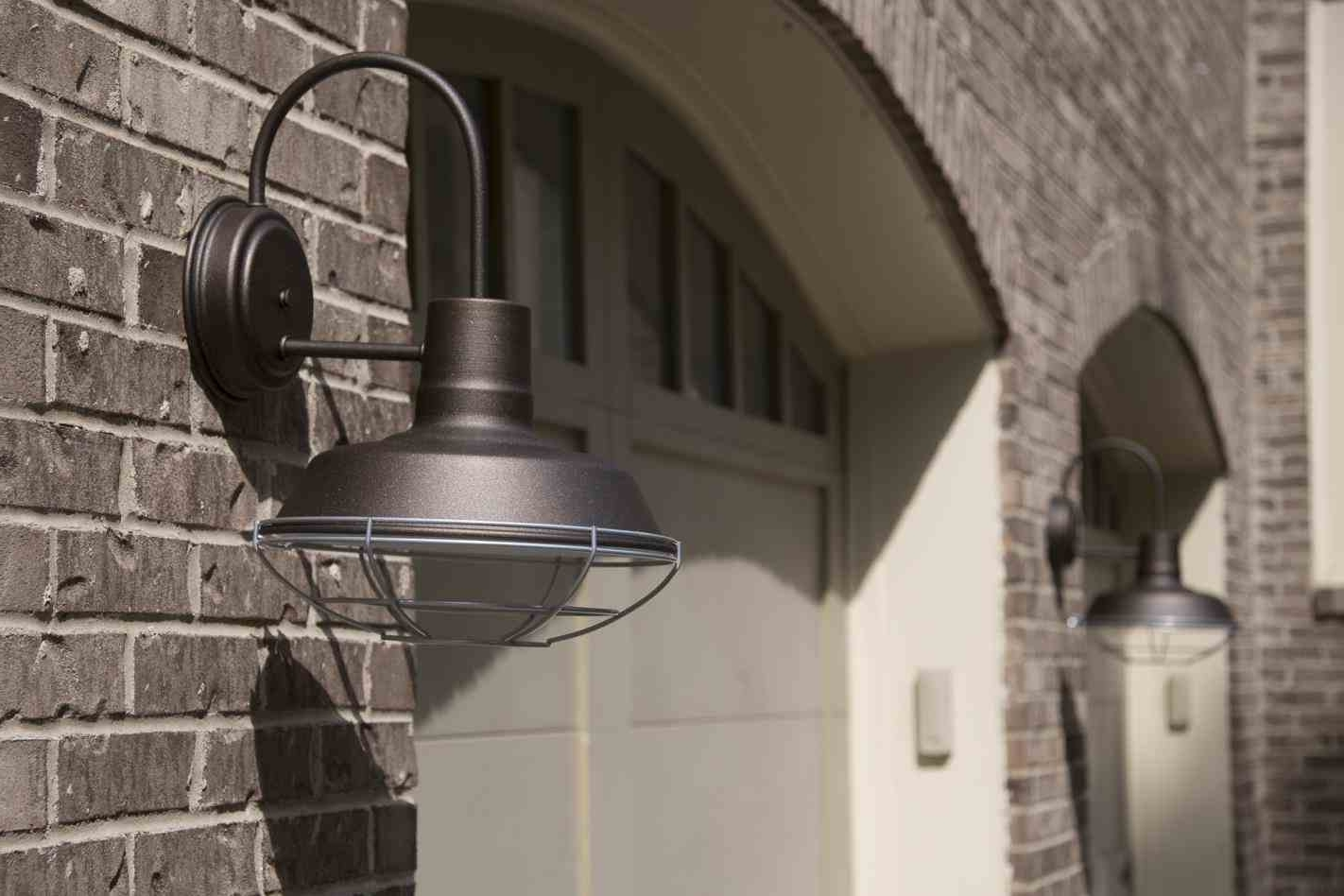 Trendy Industrial Outdoor Wall Sconce (View 19 of 20)