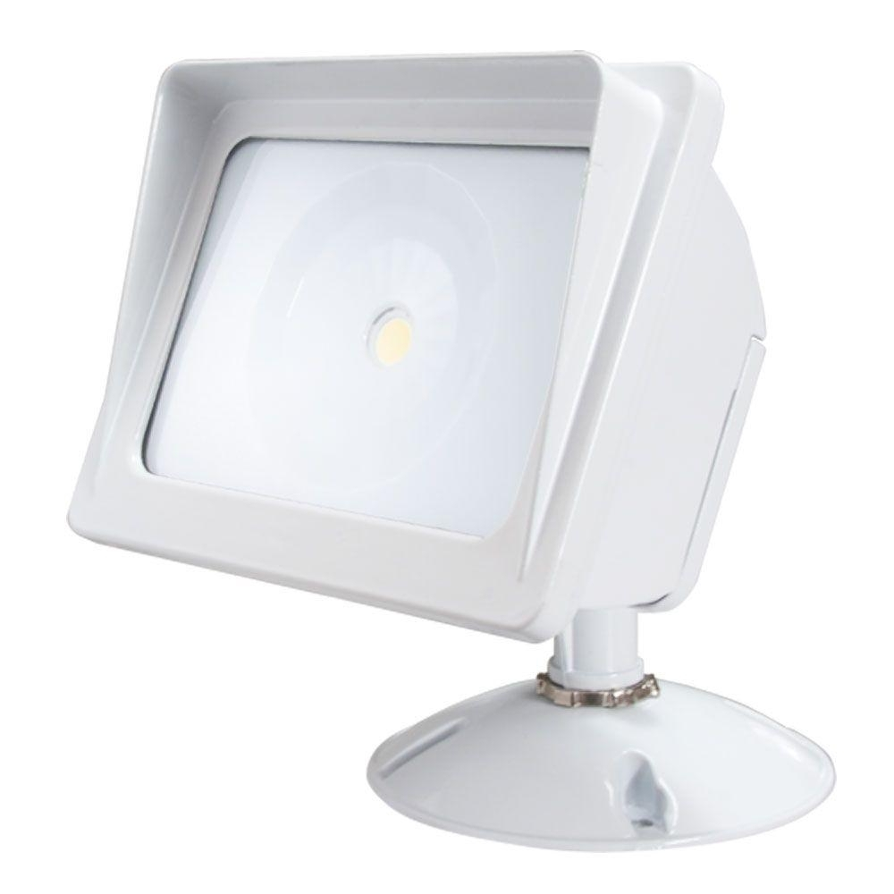 Trendy Irradiant White Led Outdoor Wall Mount Flood Light Alv2 Wf Wh – The Regarding Outdoor Wall Flood Lights (View 19 of 20)