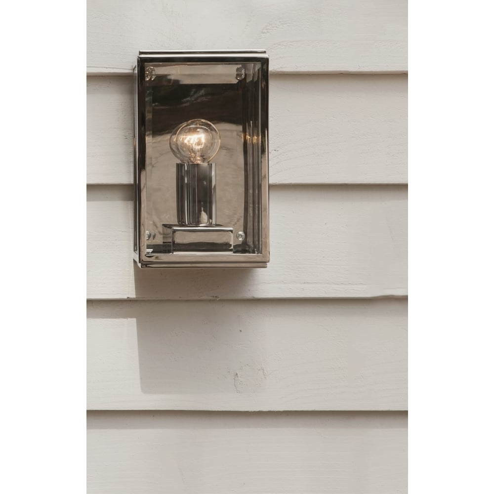 Trendy Nickel Polished Outdoor Wall Lighting In Astro Lighting Outdoor Wall Light In Polished Nickel Finish (View 17 of 20)