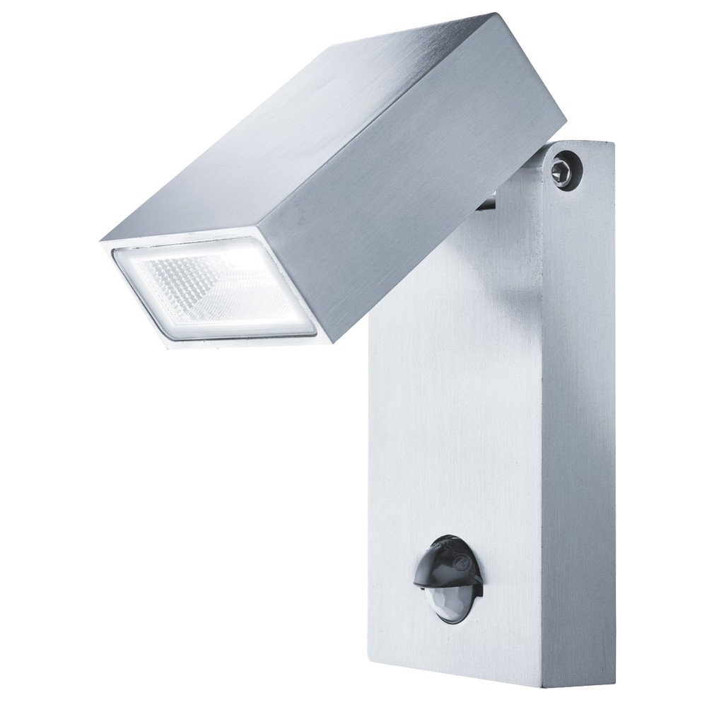 Trendy Outdoor Led Wall Lights With Sensor With Searchlight Outdoor Led Wall Light With Pir Sensor (View 19 of 20)