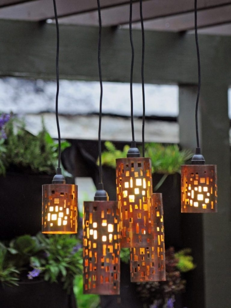 Trendy Pendant Lights ~ Outdoor Hanging Lanterns For Patio Outside Within Outdoor Hanging Lanterns For Patio (View 19 of 20)
