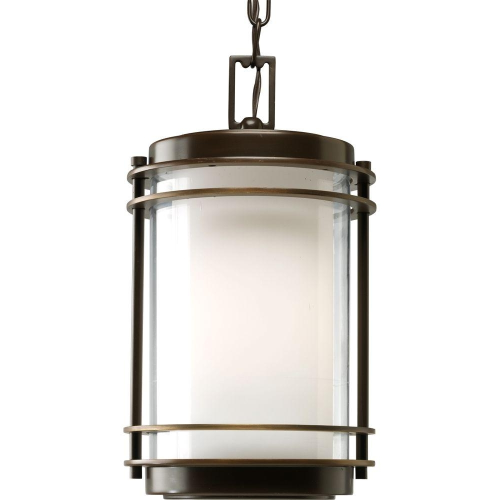 Trendy Progress Lighting Penfield Collection Oil Rubbed Outdoor Bronze Pertaining To Oil Rubbed Bronze Outdoor Hanging Lights (View 11 of 20)