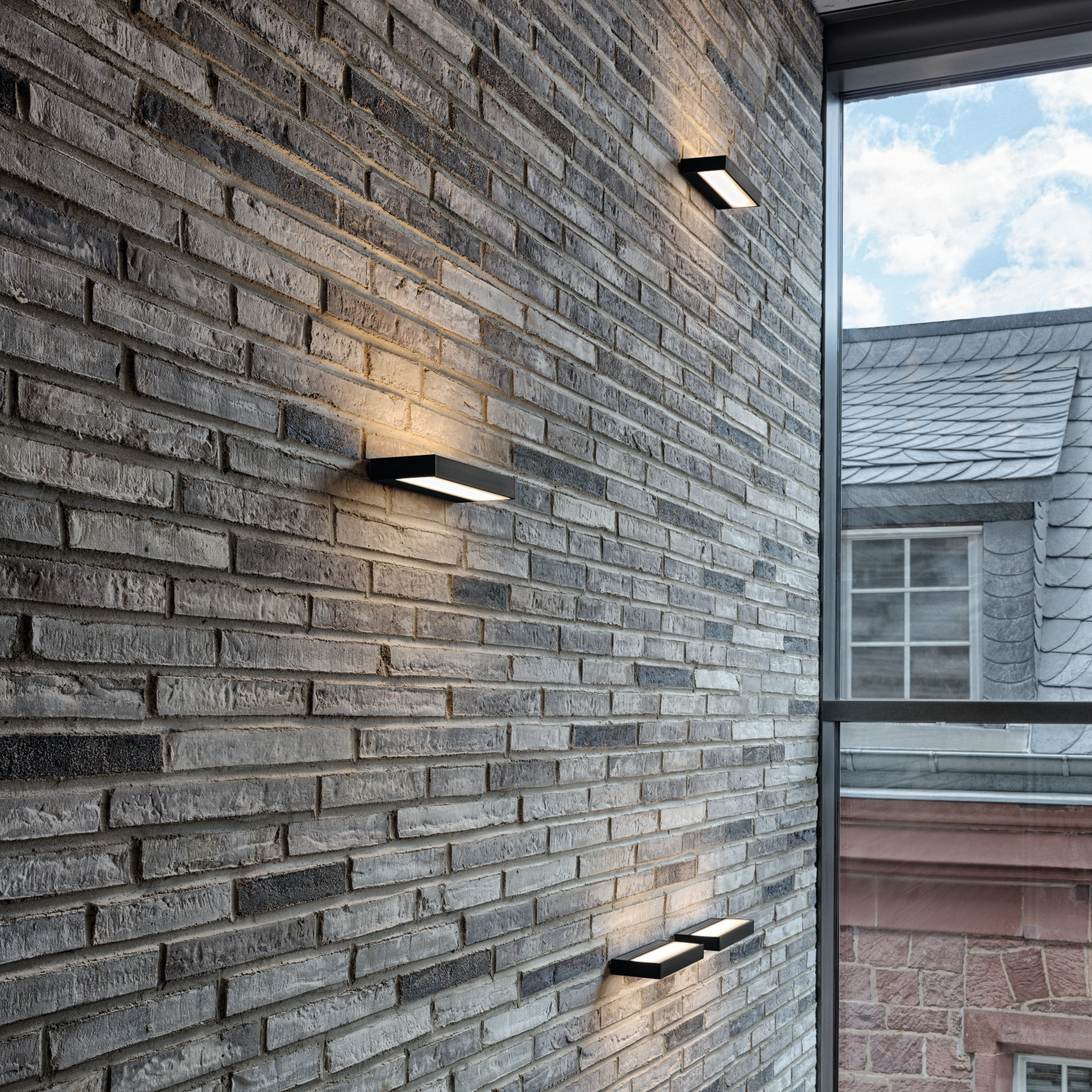 Trendy Serien Lighting Sml Led 1200 Wall Light With Outdoor Stone Wall Lighting (View 5 of 20)