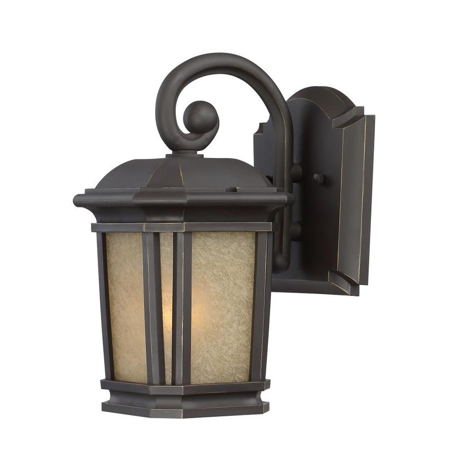 Trendy Shop Quoizel Corrigan 11 In H Bronze Outdoor Wall Light At Lowes Inside Quoizel Outdoor Wall Lighting (View 18 of 20)