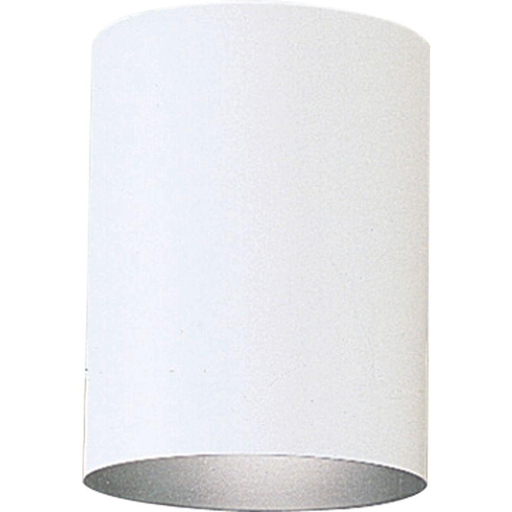 Trendy White Outdoor Ceiling Lights Inside Progress Lighting 1 Light White Outdoor Flushmount P5774 30 – The (View 14 of 20)
