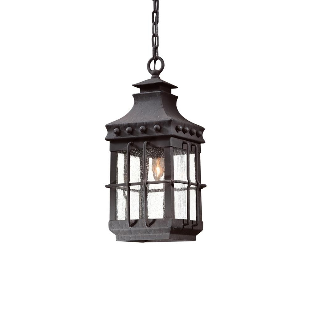 Troy Lighting Dover 1 Light Natural Bronze Outdoor Hanging Light With Regard To 2018 Troy Outdoor Hanging Lights (View 13 of 20)