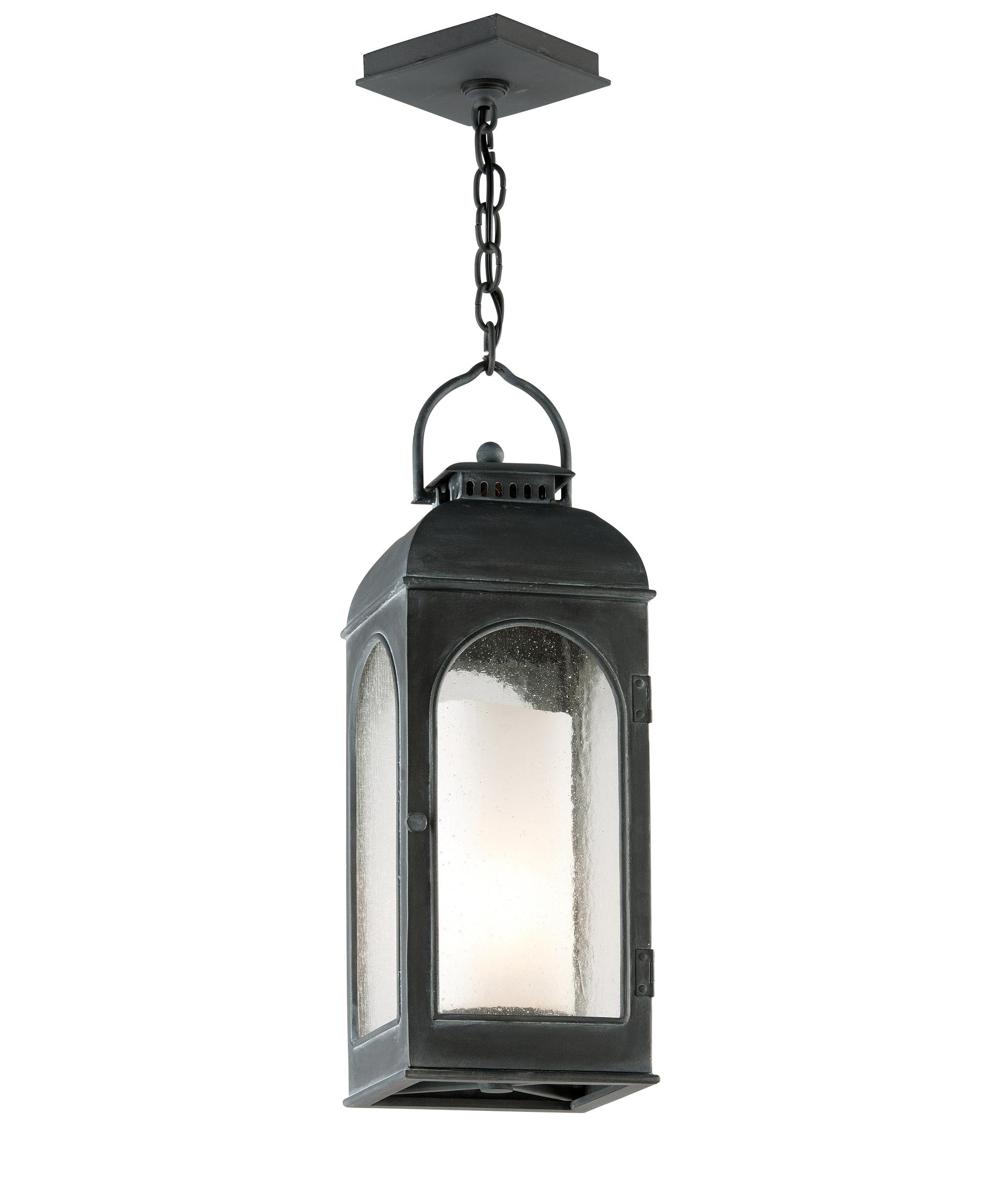 Troy Lighting F3287 Derby 8 Inch Wide 1 Light Outdoor Hanging Inside Current Outdoor Hanging Lanterns For Candles (View 17 of 20)