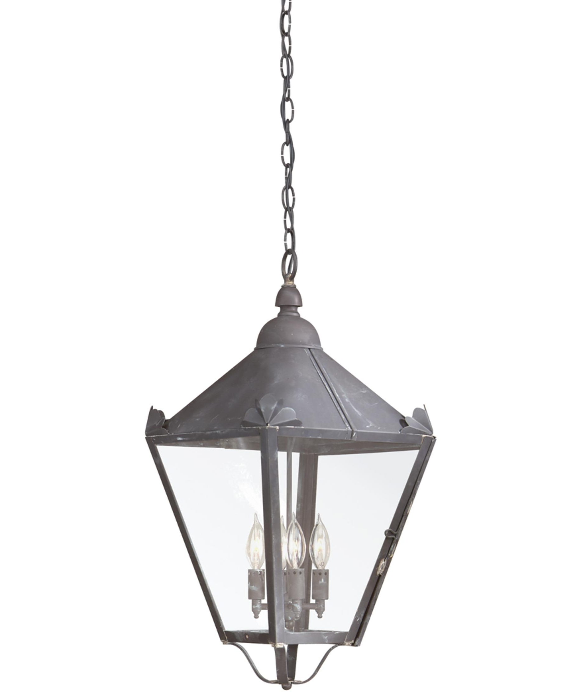 Troy Lighting F8948 Preston 13 Inch Wide 4 Light Outdoor Hanging Throughout Fashionable Led Outdoor Hanging Lanterns (View 17 of 20)