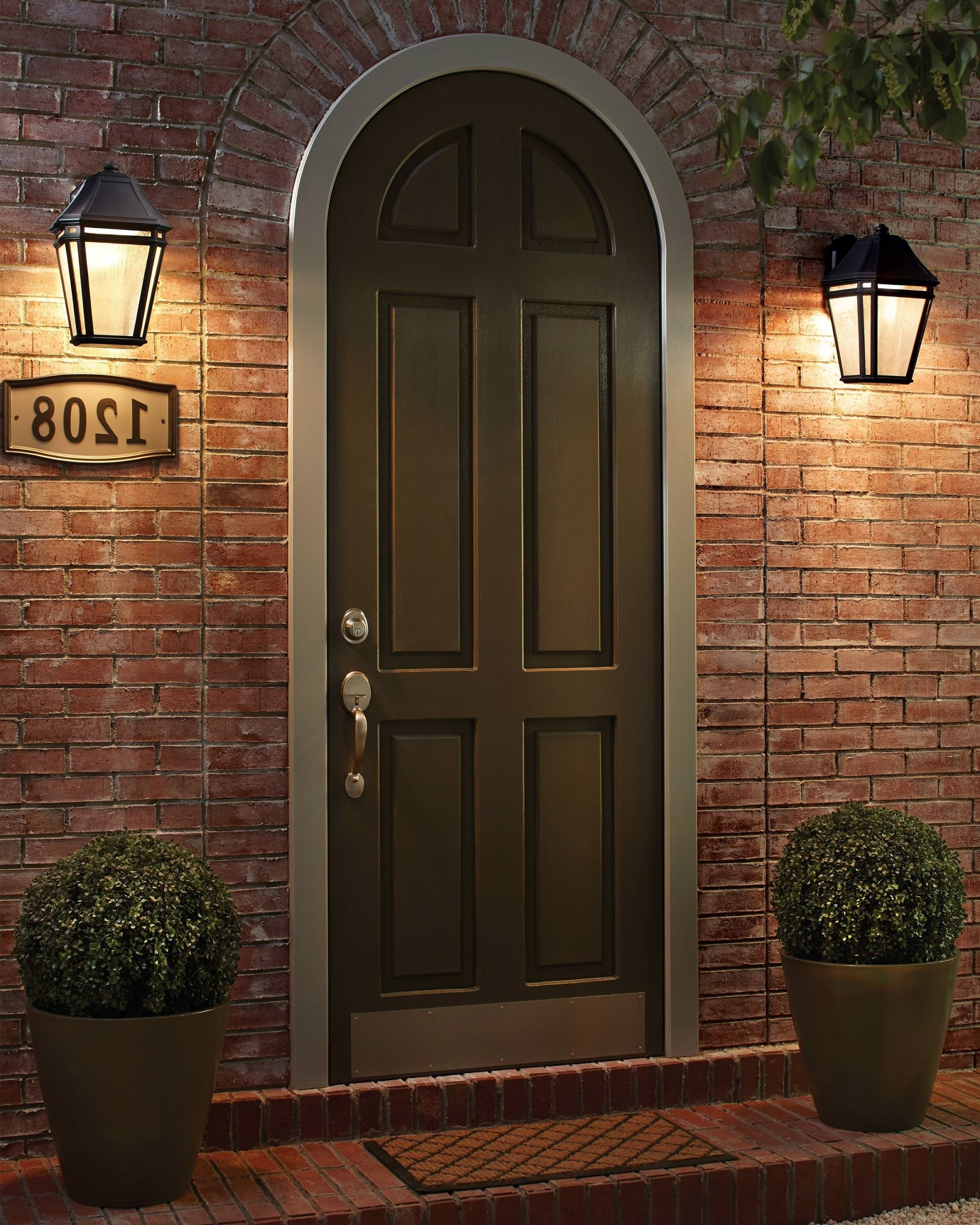Types Of Outdoor Lights For Your Home Front Porchant Light Flanking Throughout Most Popular Front Door Outdoor Hanging Lights (View 3 of 20)