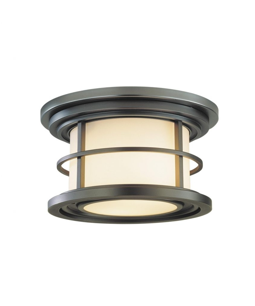 Unique Outdoor Ceiling Lights Inside Favorite Awesome Outdoor Ceiling Mount Light Fixtures (View 10 of 20)