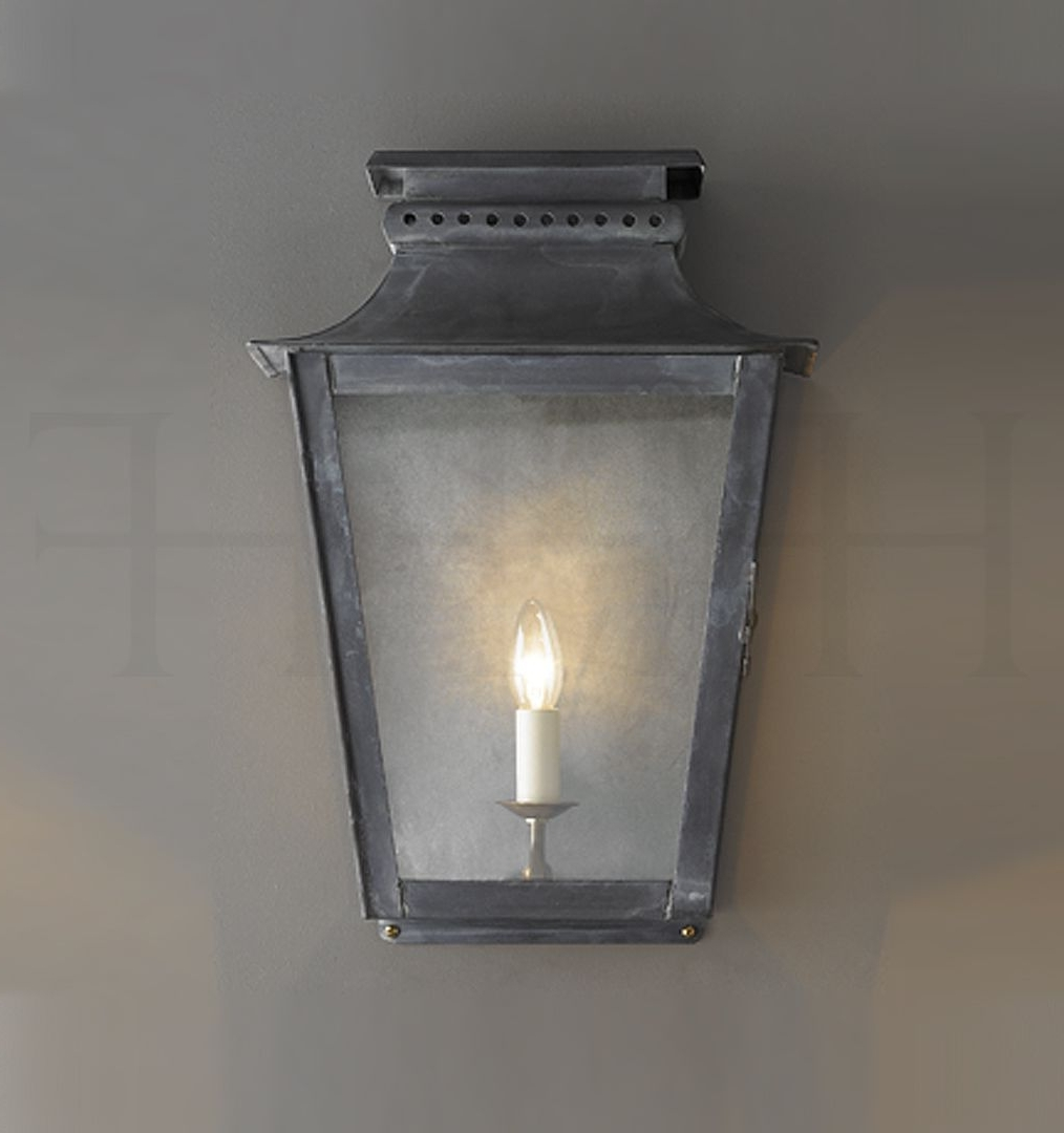 "Verdigris Outdoor Wall Lighting Pertaining To Latest Zeus Wall Lantern, Large. 18.7""h X 12.7""w. X (View 18 of 20)"