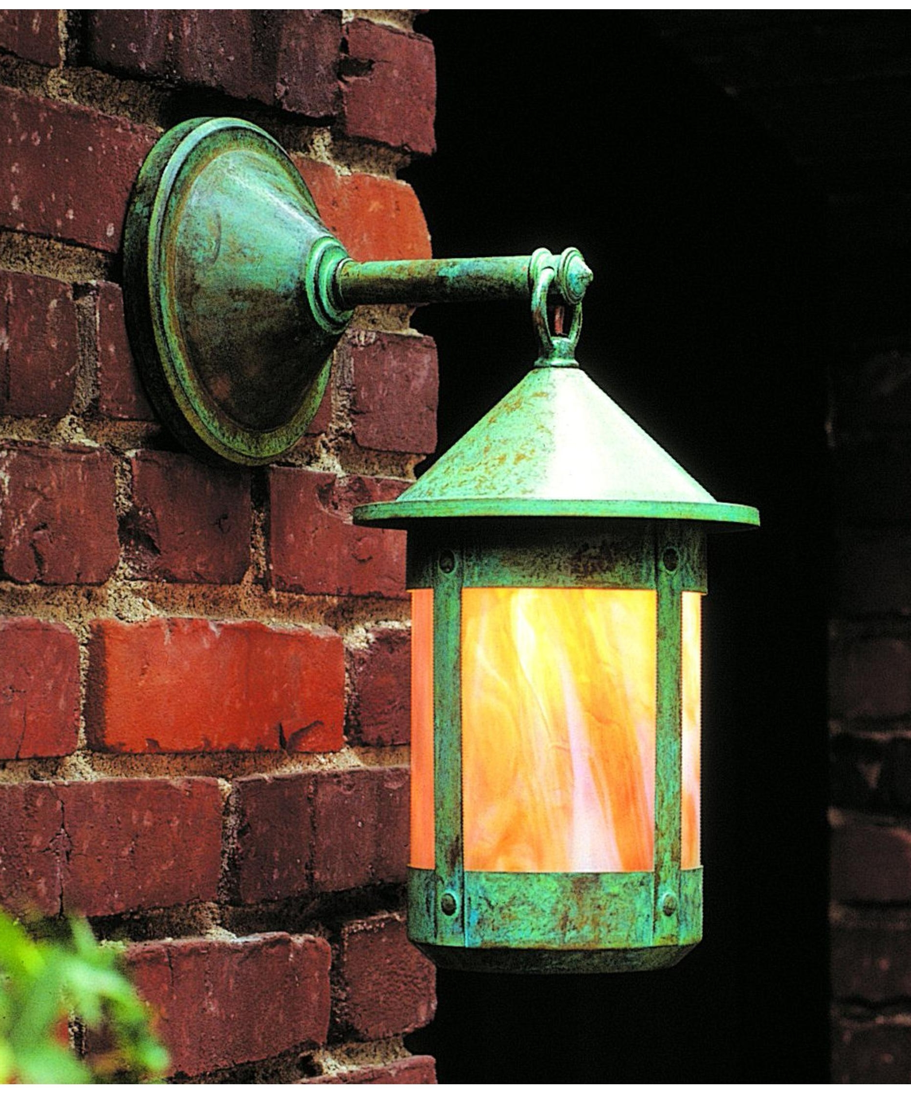 Verdigris Outdoor Wall Lighting With Well Known Arroyo Craftsman Bb 7 Berkeley 7 Inch Wide 1 Light Outdoor Wall (Gallery 9 of 20)