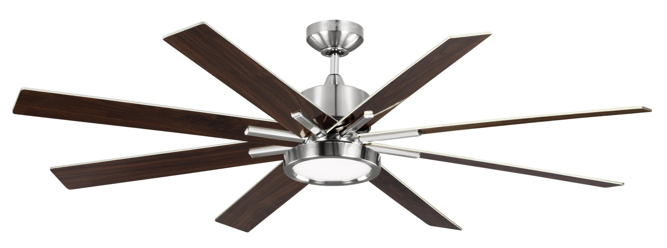"Wade Logan 60"" Woodlynne 8 Blade Outdoor Ceiling Fan With Remote Within Preferred Outdoor Ceiling Fans With Lights And Remote (View 18 of 20)"