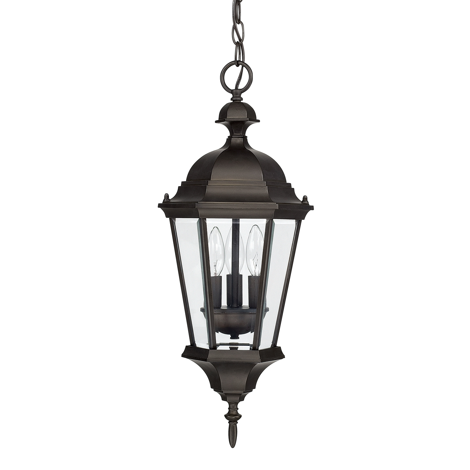 Well Known 3 Light Hanging Lantern (View 13 of 20)