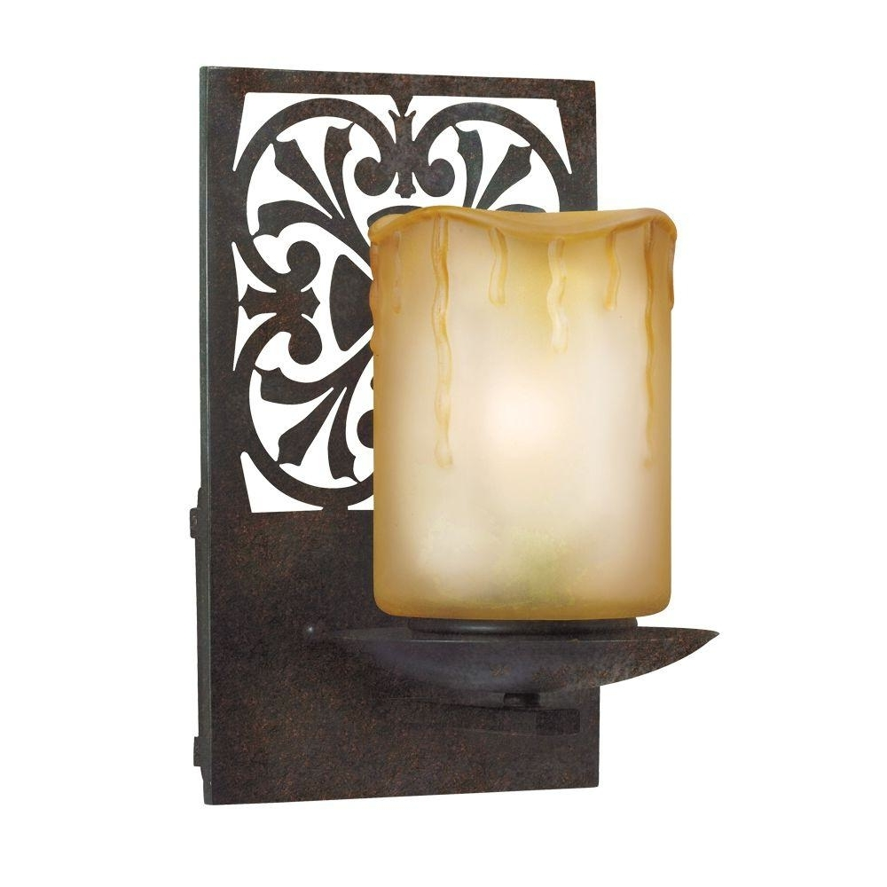 Well Known Adelaide Outdoor Wall Lighting Throughout World Imports Adelaide Collection Bronze Outdoor Wall Mount Sconce (View 8 of 20)