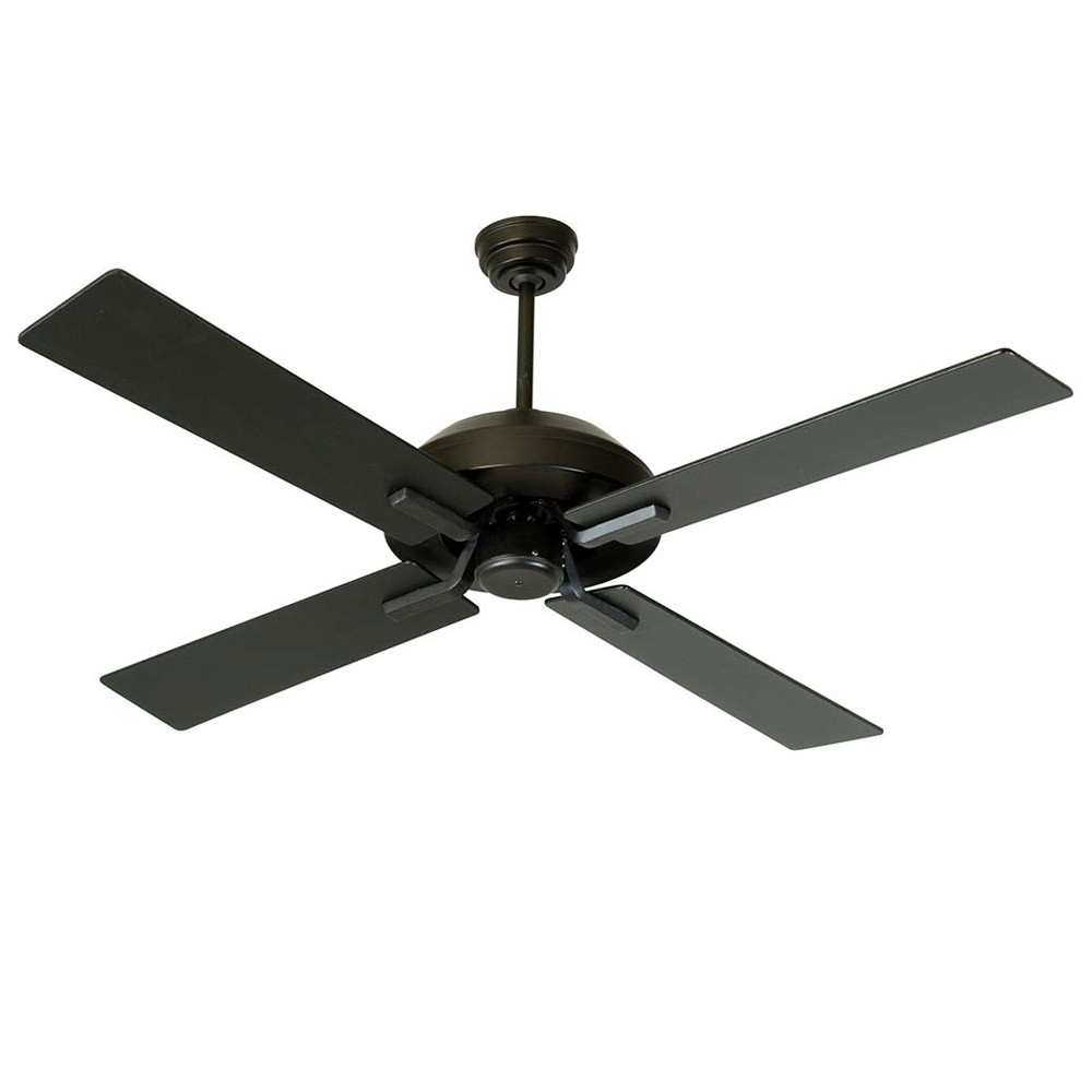 Well Known Black Outdoor Ceiling Fans With Light Throughout South Beach Ceiling Fancraftmade Fans Sb52fb4 – 52 Inch Wet (View 8 of 20)