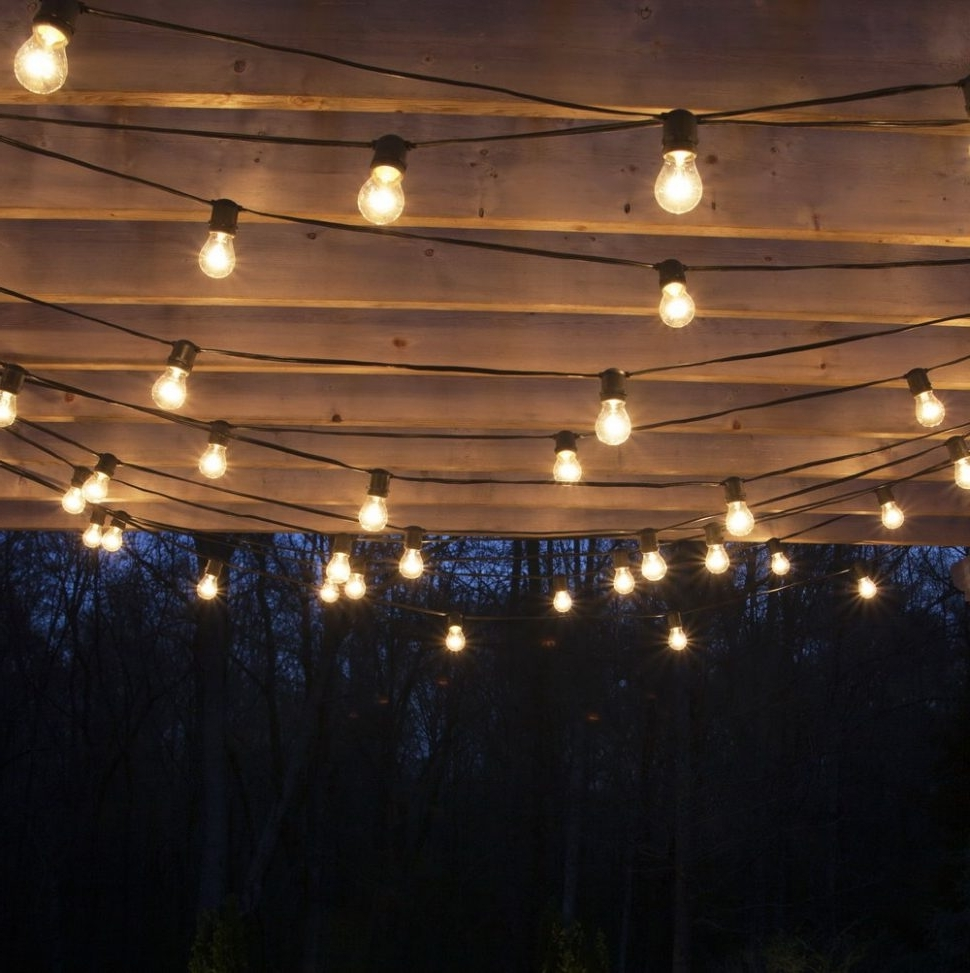 Well Known Diy : Hanging Outdoor Patio Lights Home Design Ideas String Solar Regarding Solar Hanging Outdoor Patio Lights (View 20 of 20)