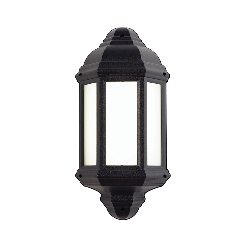 Well Known Endon Lighting Outdoor Wall Lanterns With Regard To Endon El 40116 Enluce Led Half Lantern Outdoor Wall Light £ (View 7 of 20)