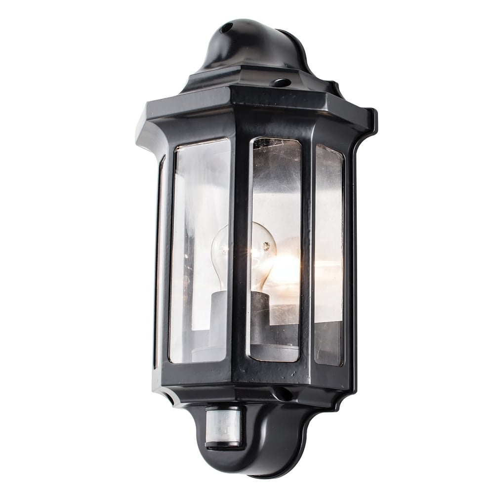 Well Known Endon Lighting Traditional Single Light Outdoor Half Wall Lantern In With Regard To Endon Lighting Outdoor Wall Lanterns (View 19 of 20)