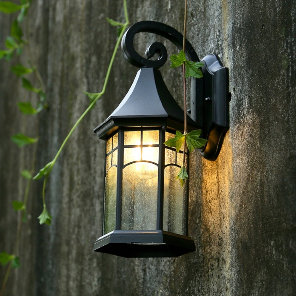 Well Known European Outdoor Wall Lighting For Retro Outdoor Wall Lamp European Waterproof Outdoor Lighting (View 5 of 20)