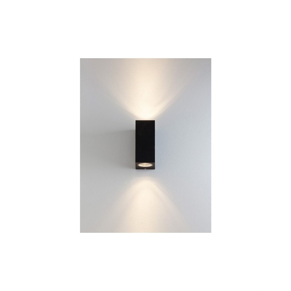 Well Known Furniture : Astro Lighting Chios Exterior Wall Light Black Outdoor Within Outdoor Wall Lights In Black (View 12 of 20)