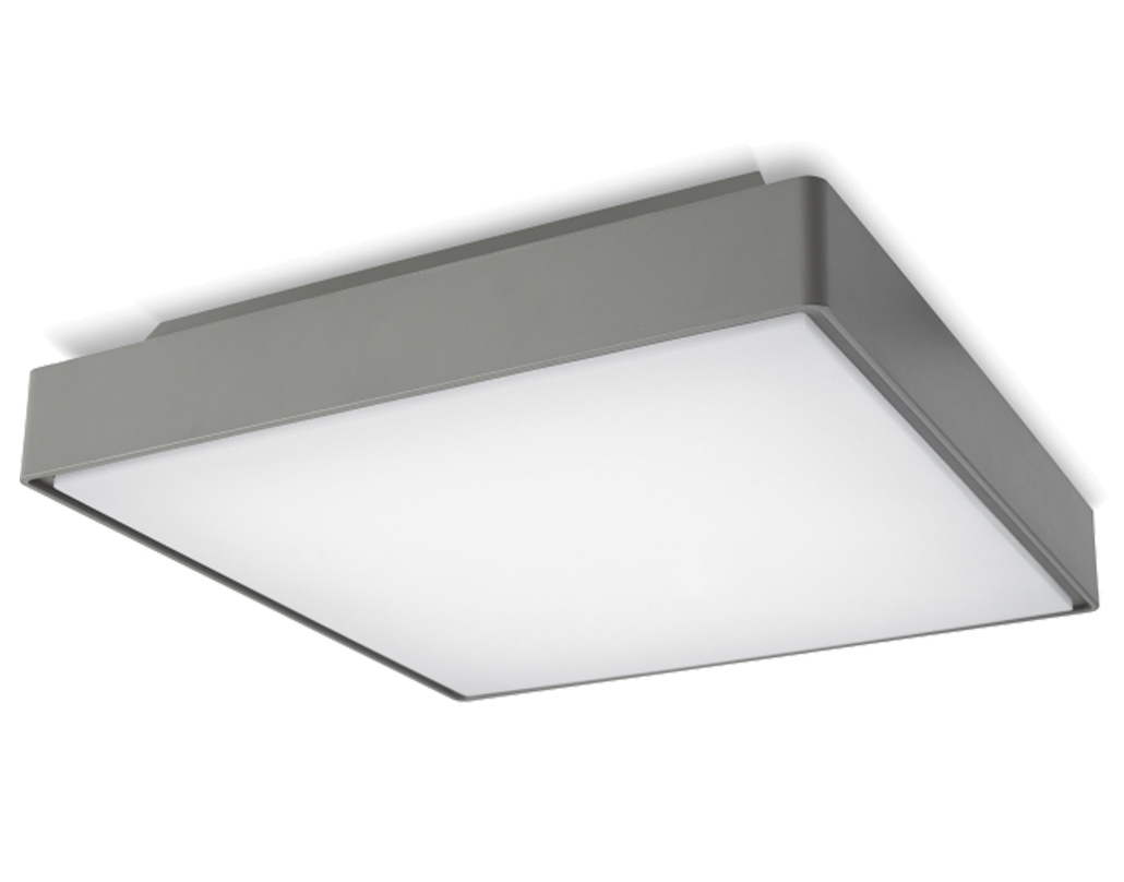 Well Known Led Outdoor Ceiling Light With 17W 12 In Round Fixture 4000K Intended For Outdoor Ceiling Lights At Bunnings (View 16 of 20)