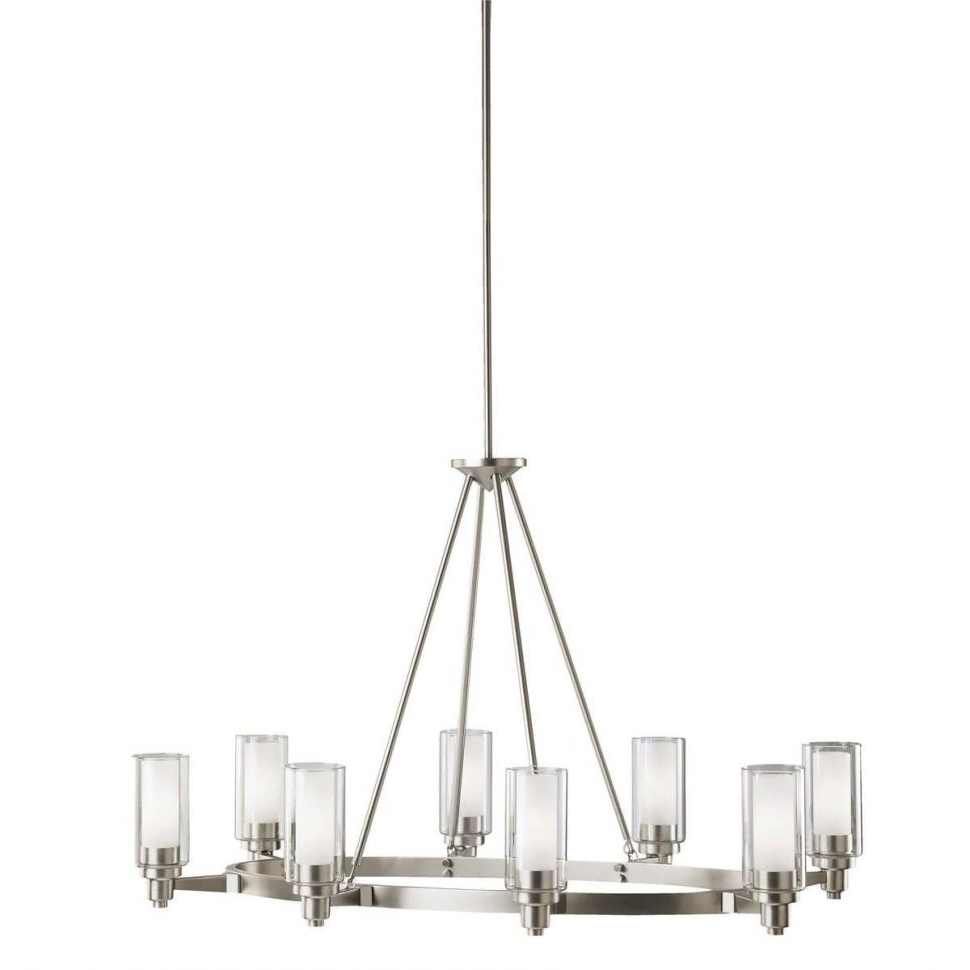 Well Known Light : Kichler Light Chandelier Contemporary Chandeliers Iron Inside Outdoor Chandelier Kichler Lighting (View 8 of 20)