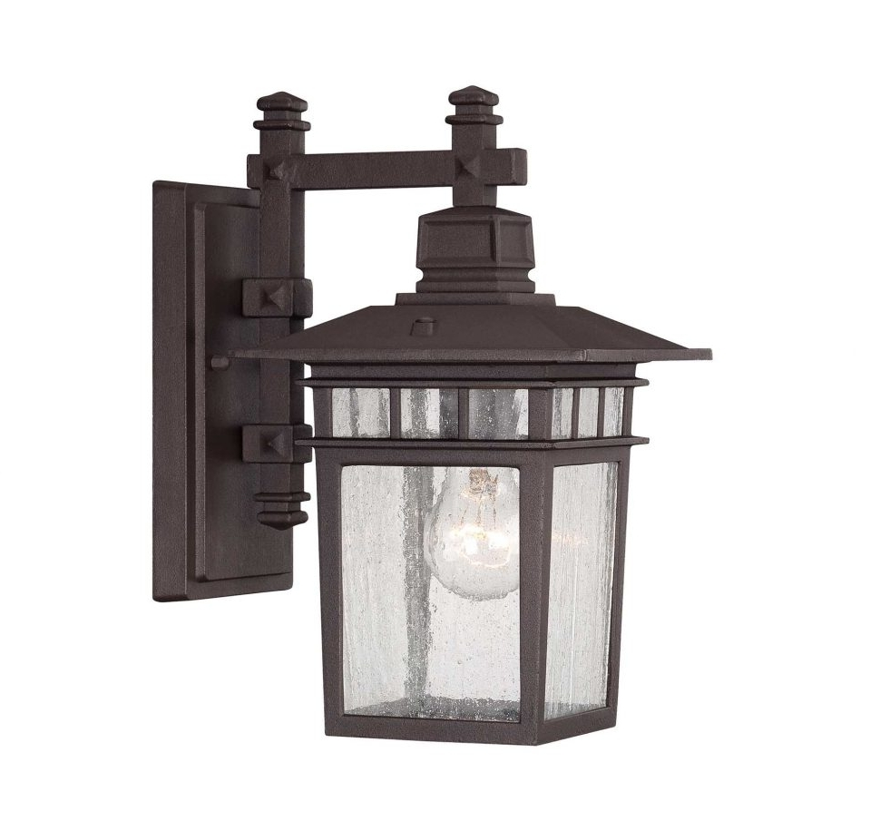 Well Known Mission Style Outdoor Wall Lighting Intended For Lighting : Engaging Craftsman Style Outdoor Lighting Lowes Mission (View 15 of 20)