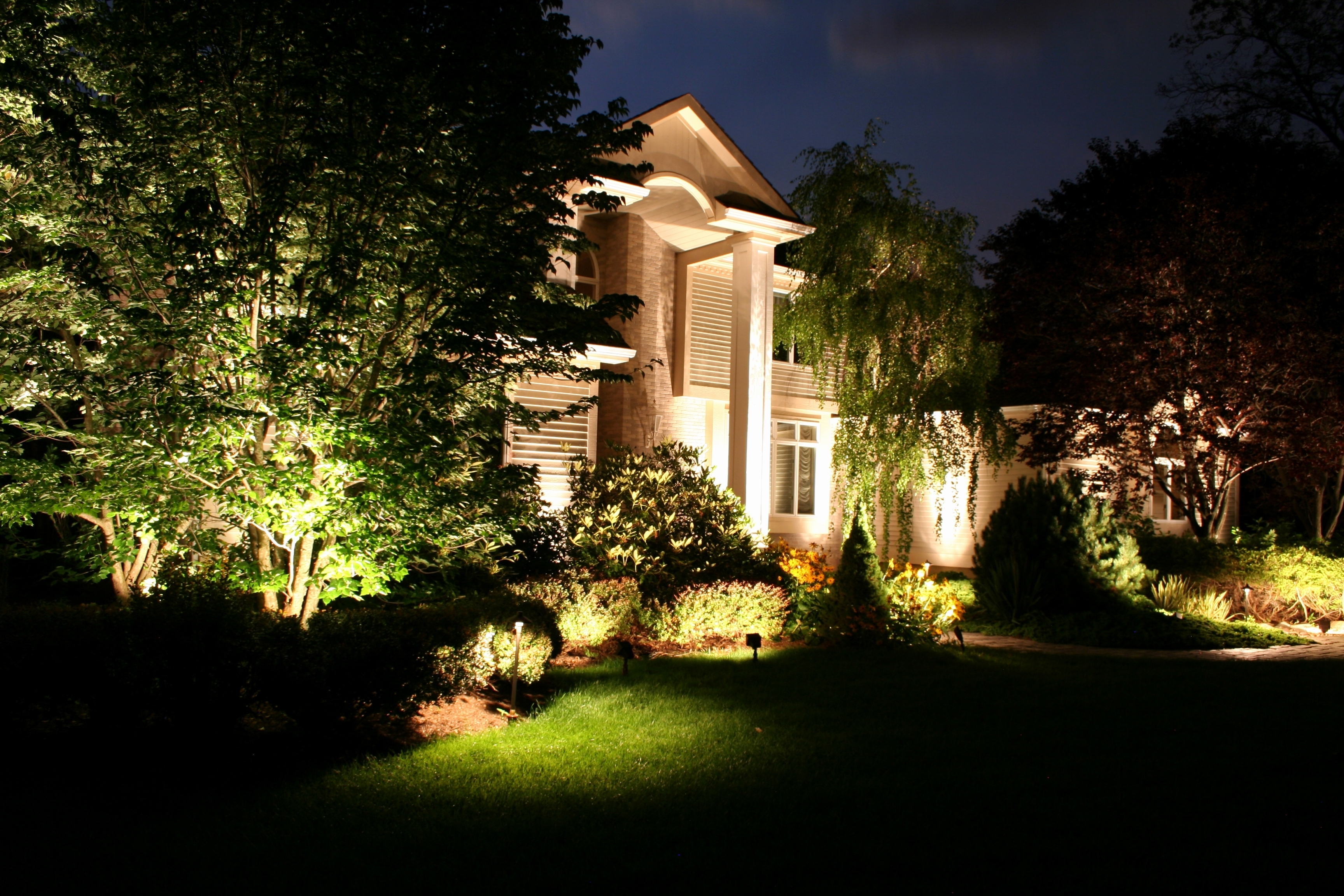 Well Known Modern Garden Landscape Lighting Throughout Picture 38 Of 38 – Modern Landscape Lighting Unique Landscape (View 19 of 20)