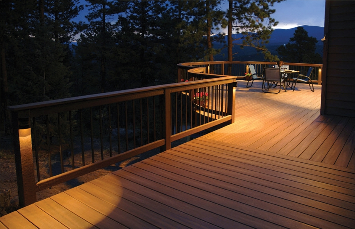 Well Known Modern Garden Low Voltage Deck Lighting Throughout Solar Deck Lights – Thediapercake Home Trend (View 18 of 20)
