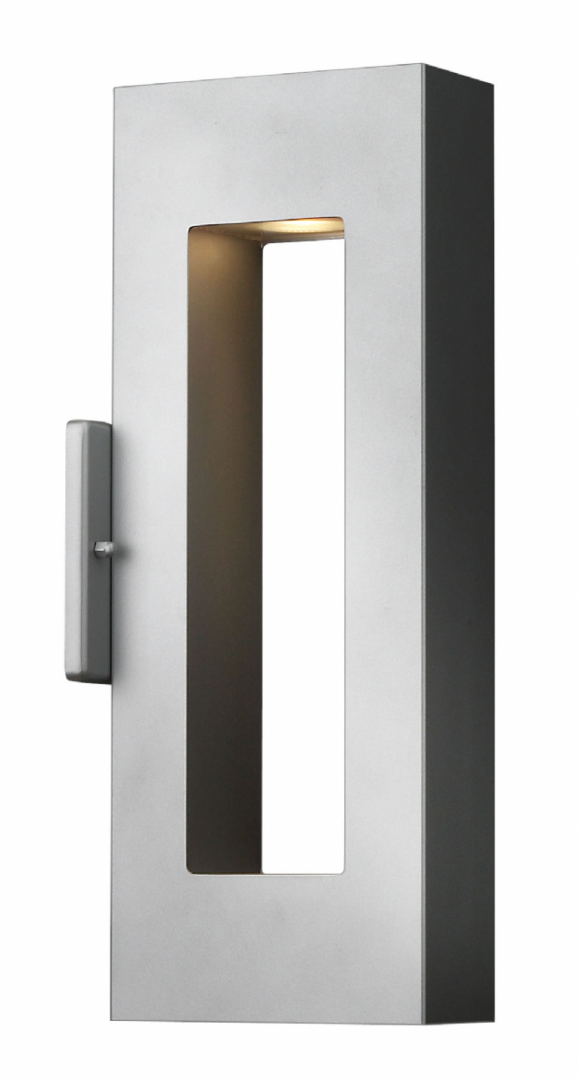 Well Known Modern Outdoor Hinkley Lighting In Titanium Atlantis > Exterior Wall Mount (View 9 of 20)