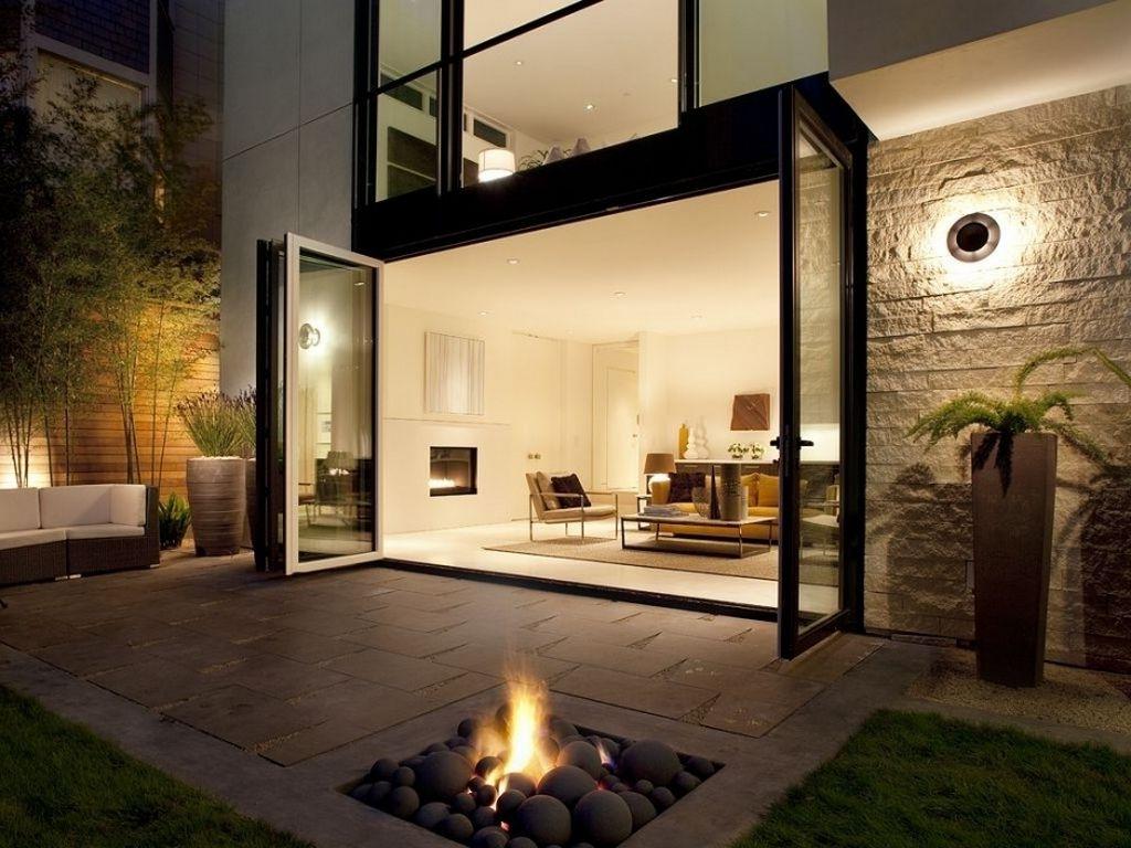 Well Known Modern Patio Outdoor Light Fixtures Regarding Modern Light Fixture For A Perfect Modern House Lighting – Amaza Design (View 19 of 20)