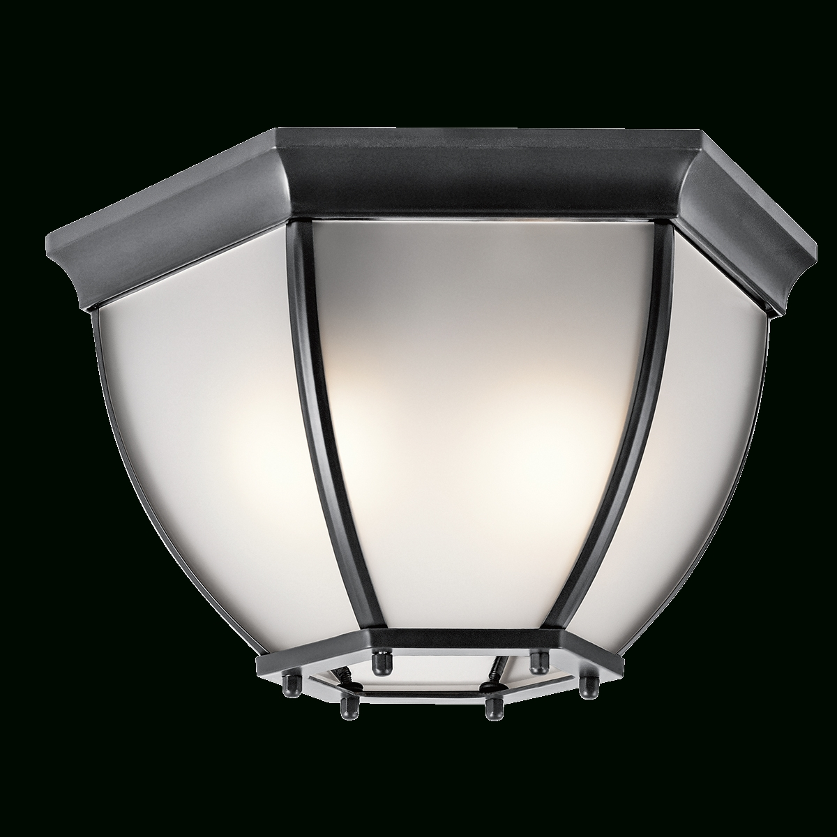 Well Known Outdoor 2 Light Ceiling Light In Olde Bronze With Let Outdoor Kichler Lighting (View 18 of 20)