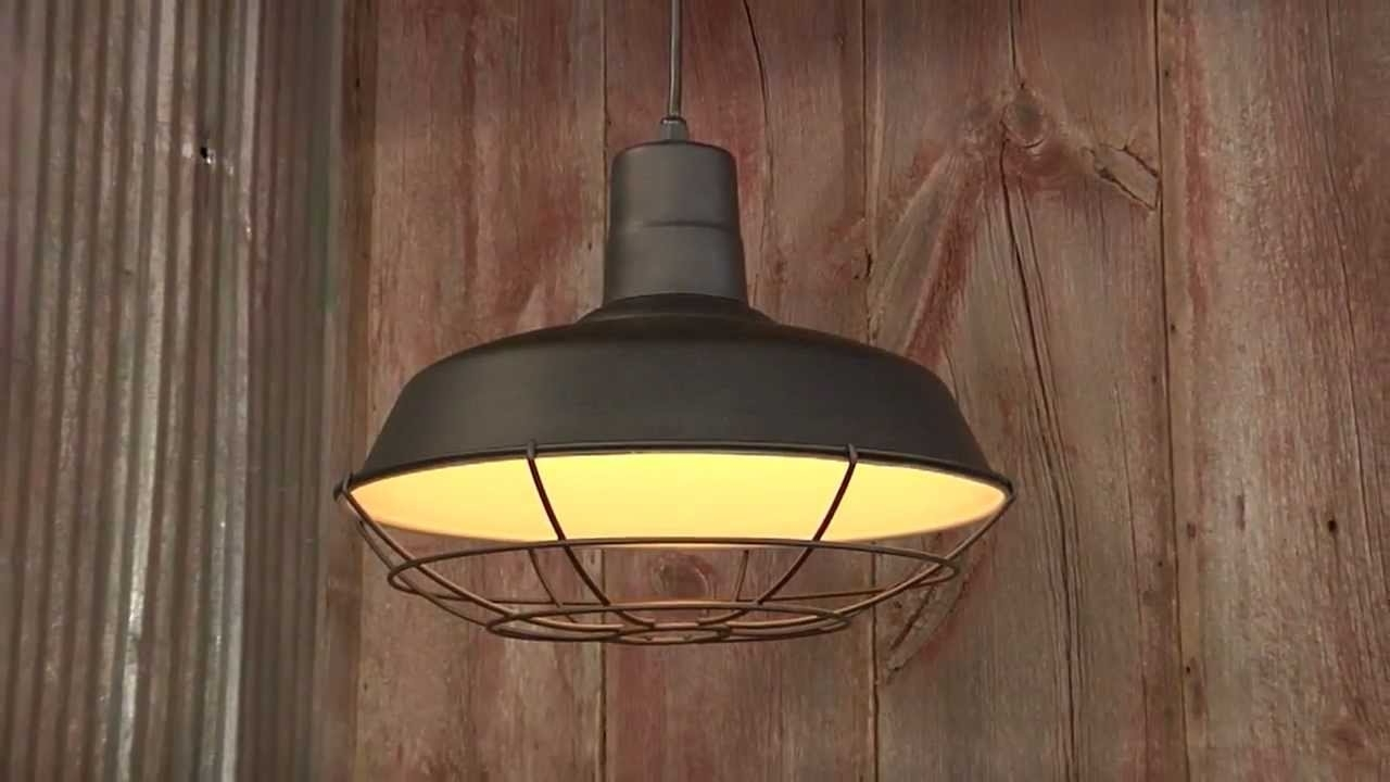 Well Known Outdoor Barn Ceiling Lights: Barn Lights Outdoor Lighting And Within Outdoor Hanging Barn Lights (View 20 of 20)