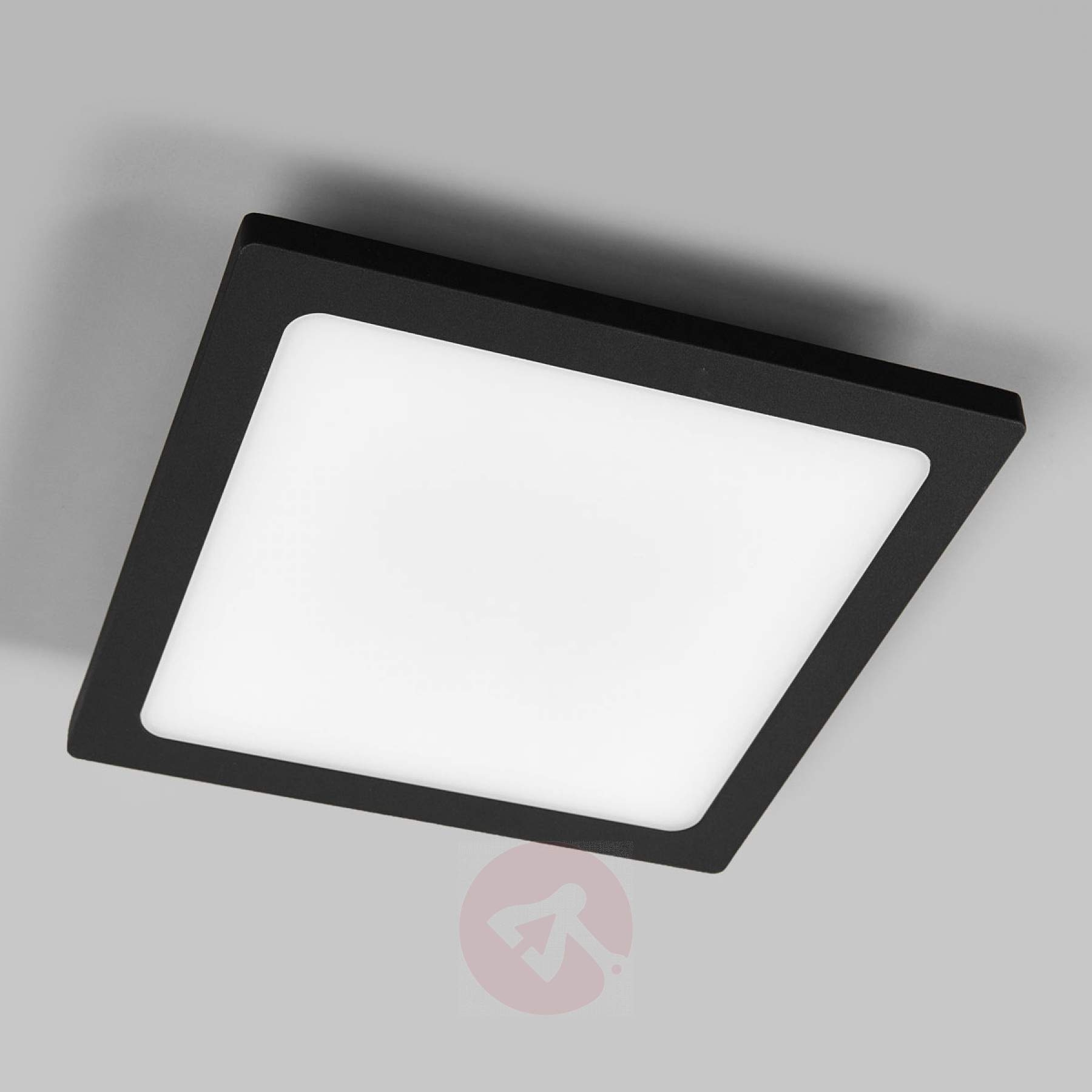 Well Known Outdoor Ceiling Lights With Sensor In Mabella Led Outdoor Ceiling Lamp With Sensor (View 14 of 20)