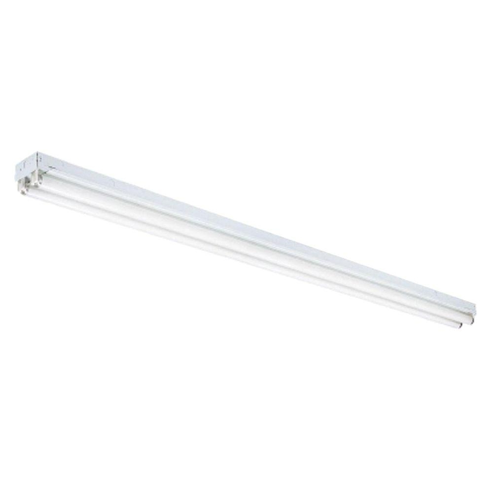 Well Known Outdoor Fluorescent Ceiling Lights Regarding N 2 Light White Ceiling Commercial Strip Fluorescent Light C 2  (View 4 of 20)