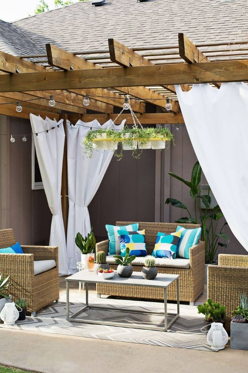 Well Known Outdoor Hanging Lights For Gazebos With Regard To Chandeliers Design : Wonderful Outdoor Pendant Lighting Hanging (View 19 of 20)