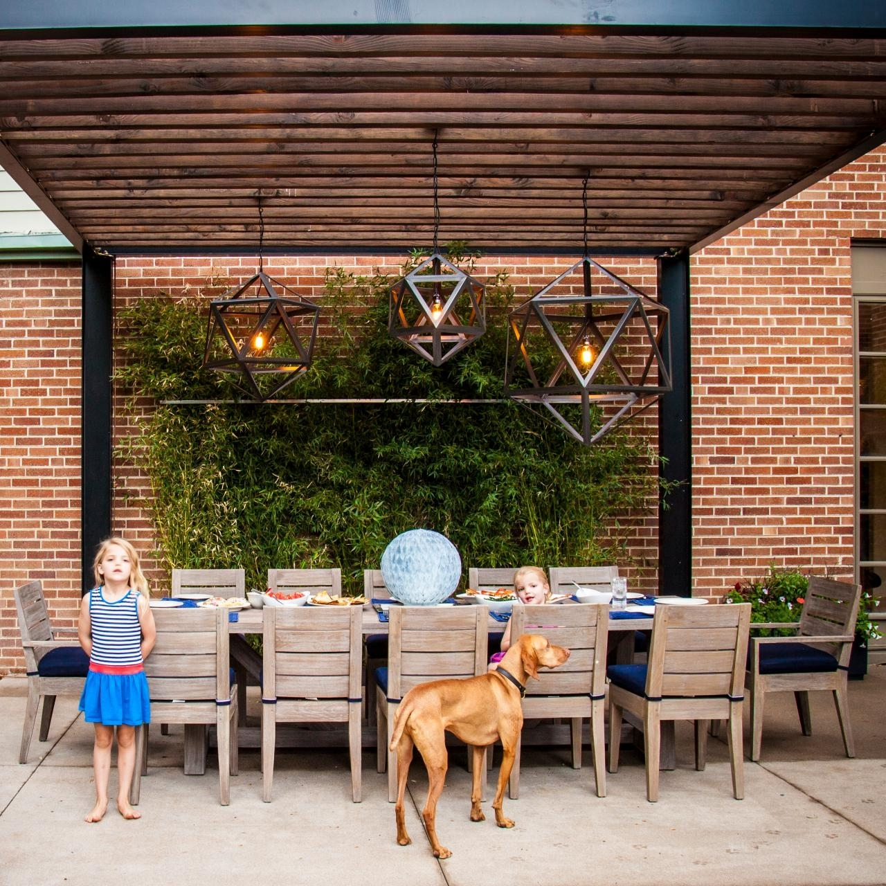 Well Known Outdoor Hanging Lights For Pergola In Dreamy Pergola Lighting Ideas (View 17 of 20)