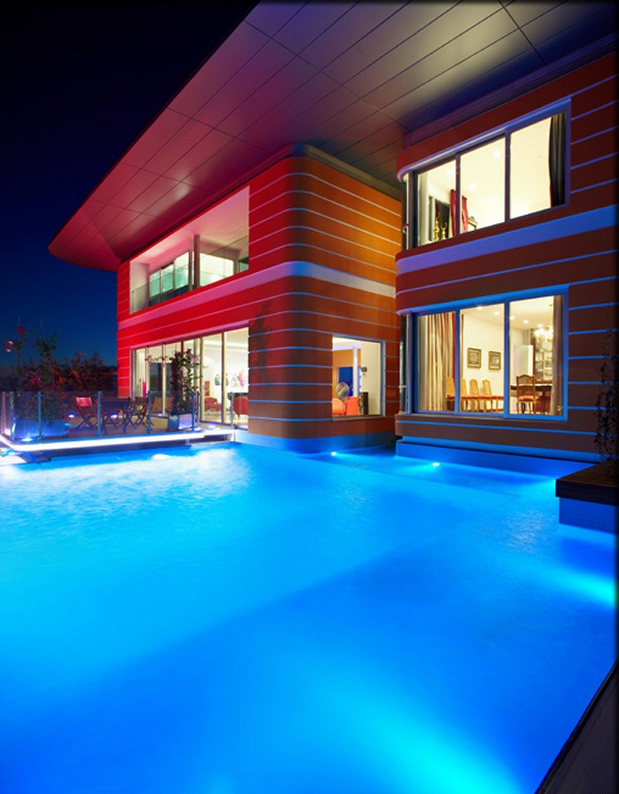 Well Known Outdoor Hanging Pool Lights For Photos Hgtv Traditional Poolhouse With Swimming Pool And Outdoor (View 19 of 20)